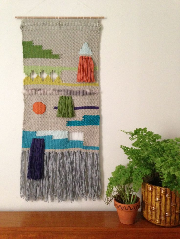 Woven tapestry by Maryanne Moodie