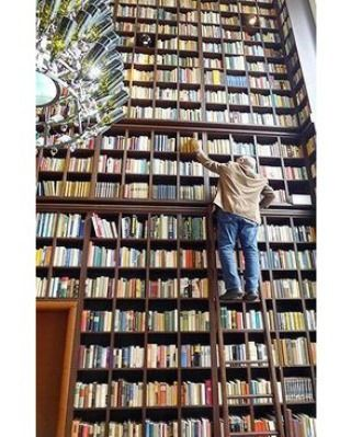 An amazing collection... unless you're afraid of heights lol. #booksthatmatter #bookhugs #bloomingtwig #yourstory