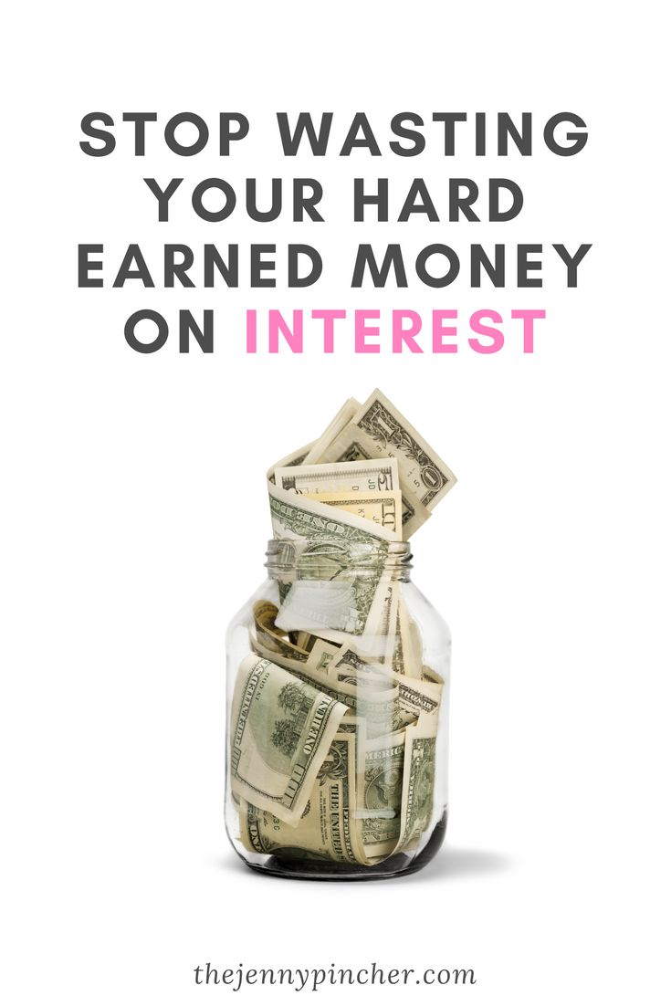Using a bank's money to buy now and pay later comes with a price- it's called interest. Learn how to stop interest from eating at your hard-earned money. via @thejennypincher