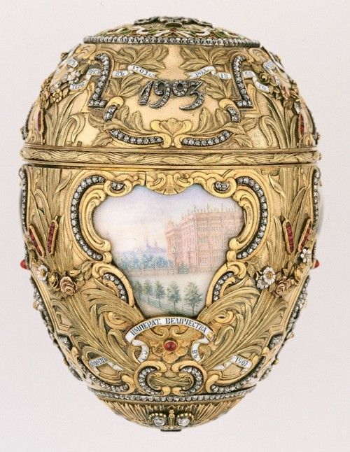 A Faberge egg.