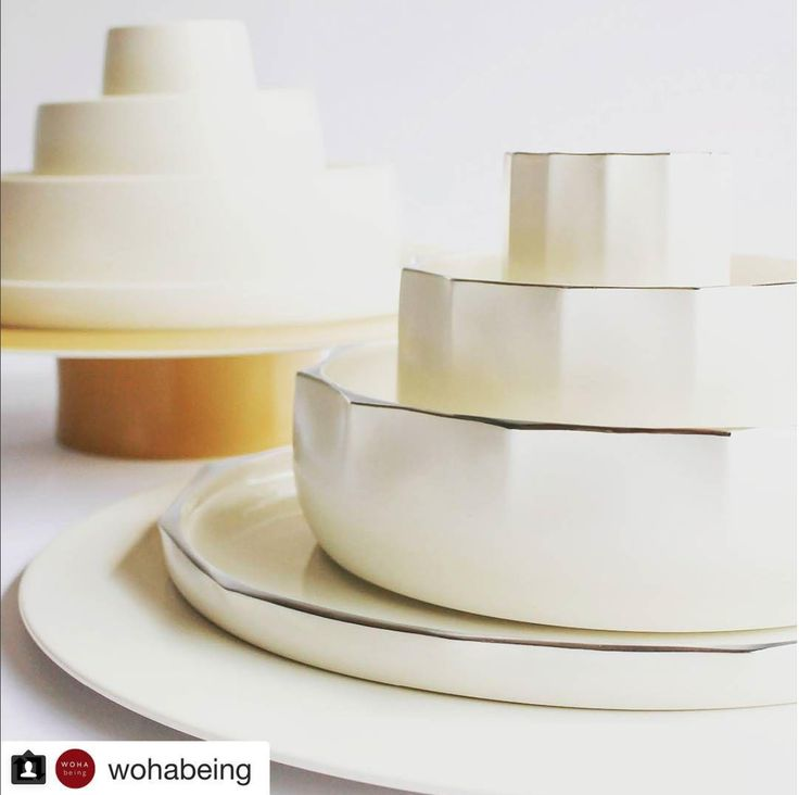 WOHAbeing x Luzerne The diaspora of overseas Chinese is celebrated in this collection of tableware. It combines ancient shapes from Chinese culture with contemporary colours inspired by the landscapes and cultures of their new homes.