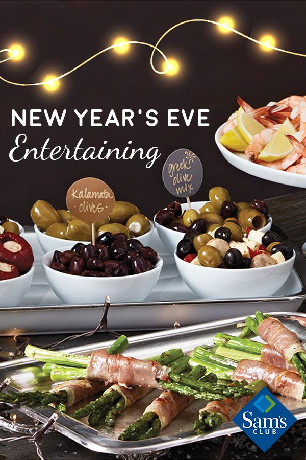 End the year in delicious style with elegant appetizers, tasty drinks and more crowd-pleasers.