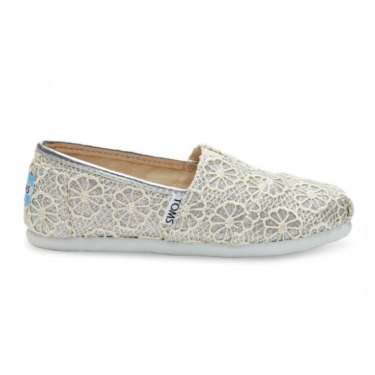john-andy.com | Toms Παπούτσια Παιδικά Crochet Glitter Youth Alpargatas 10006363