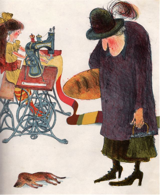 my vintage book collection (in blog form).: Old Mother Hubbard and Her Dog - illustrated by Ib Spang Olsen