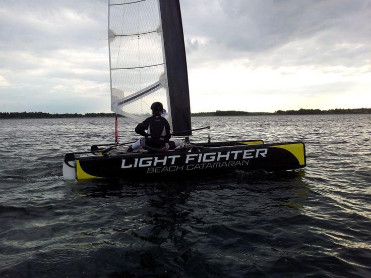 LightFighter sailing in Frederikssund, Denmark - Beach Cats World Network