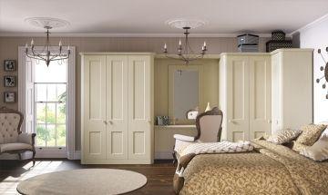 Oakgrain Cream Bedroom Doors - By BA Components