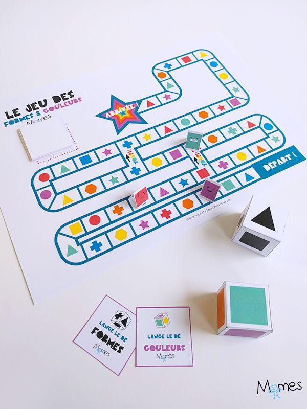 Le jeu des formes et des couleurs