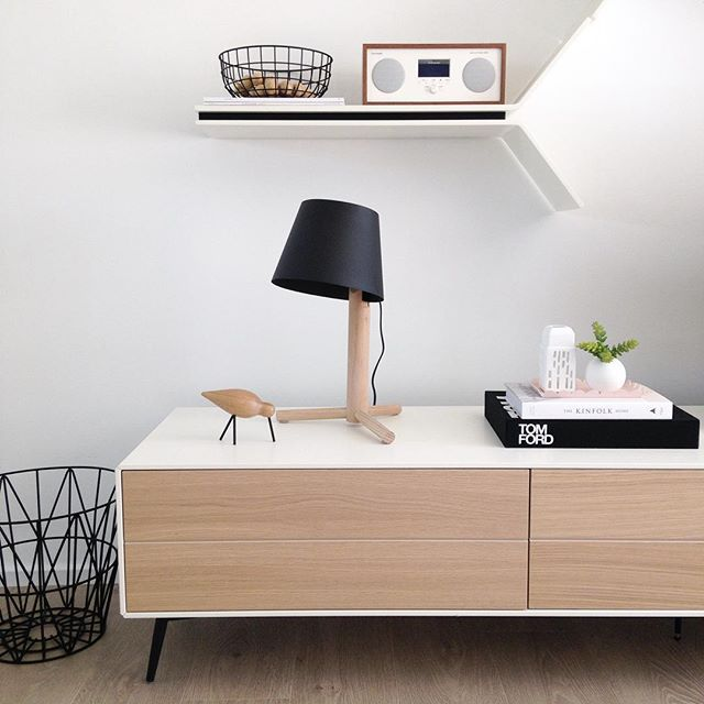 Black Lazy lamp by Urban Couture
