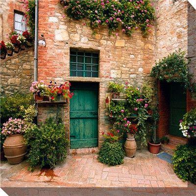 Toscano Courtyard Weatherprint Art