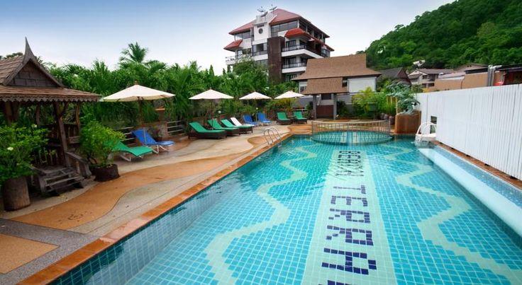 Beach Terrace Hotel Ao Nang Beach Enjoying a perfect beachfront location, Beach Terrace Hotel is a short 2-minute walk from Krabi's Ao Nang Beach. The modern hotel offers free Wi-Fi and an outdoor pool.
