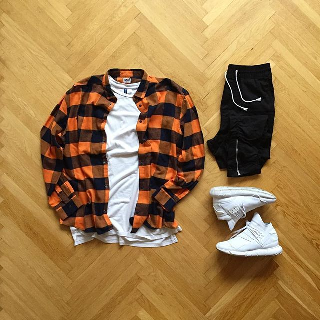 WEBSTA @ eezy.outfits - Eezy✔️ : Weekday Flannel Shirt: H