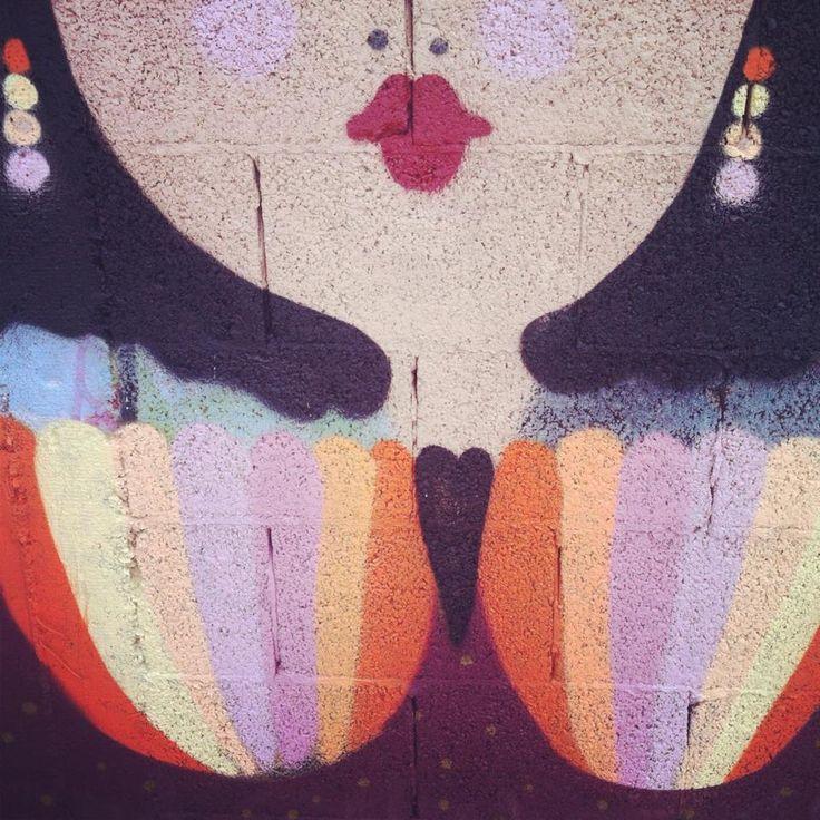 """After All, a little Rainbow..."" La Fille Bertha  2013 Ca"