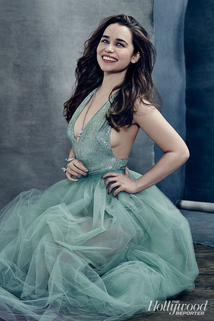 Emilia Clarke for The Hollywood Reporter April 2015 - Valentino Spring 15