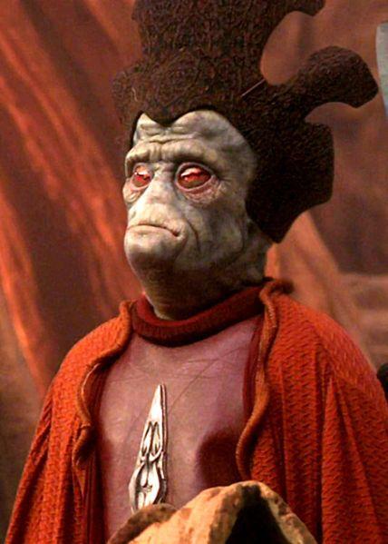 Nute Gunray(Neimoidian) Star Wars