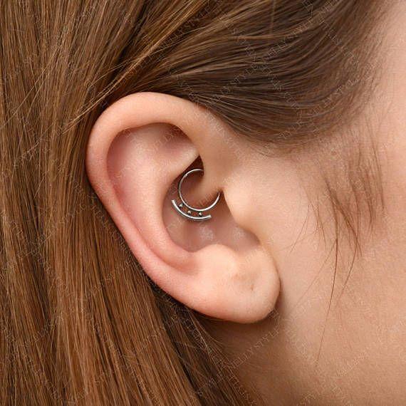 Septum Jewelry Surgical Steel Daith Piercing Earring Septum