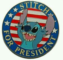 Stitch for President  :)