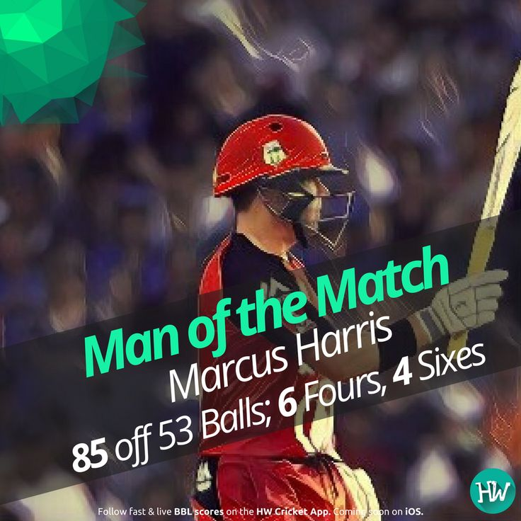 Marcus Harris played a stupendous innings to give Melbourne Renegades a fighting total. #BBL06 #cricket #bigbashleague