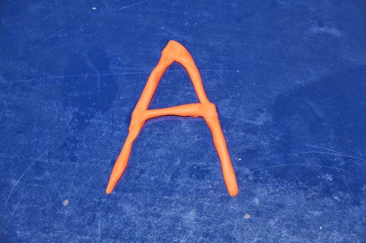 Изучаем буквы в действии!: Буква А - поделки