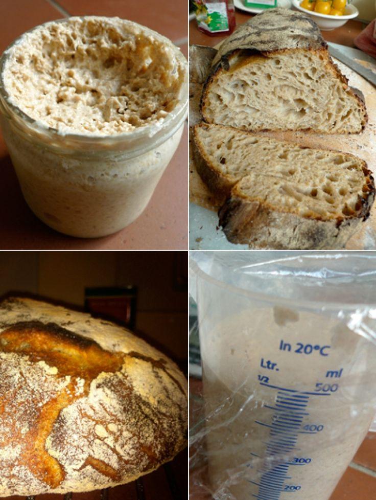 Filmpje! Zuurdesem- <br>brood bakken in 4 stappen | ELLE Eten