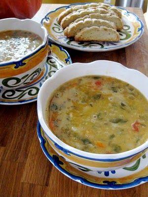 Hope For Healing: Italian Red Lentil Noodle Soup