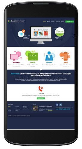 A website specialize in public relation and market research.