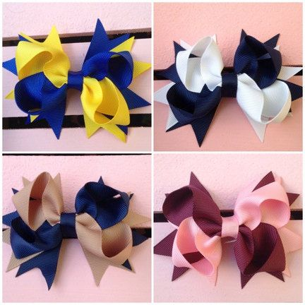 Hey, I found this really awesome Etsy listing at https://www.etsy.com/listing/197649714/school-uniform-bows-in-different-colors