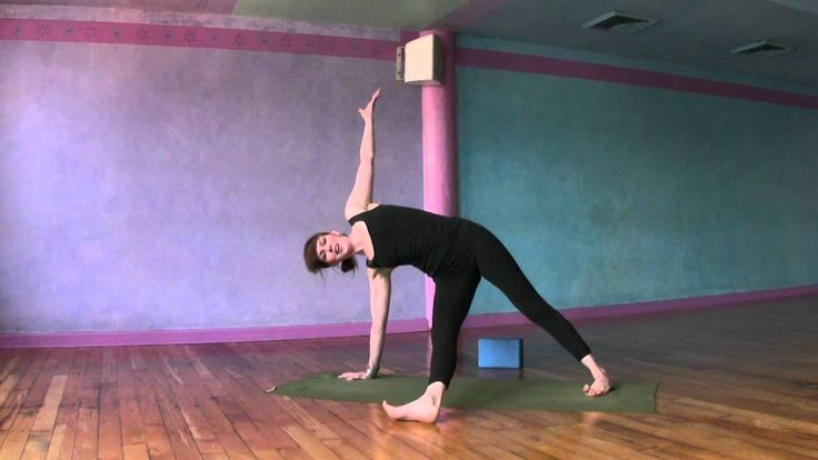 I subscribe to this girl on youtube. Her classes are pretty awesome and effective, and she's a good teach in general. Gotta start yoga-ing at home.