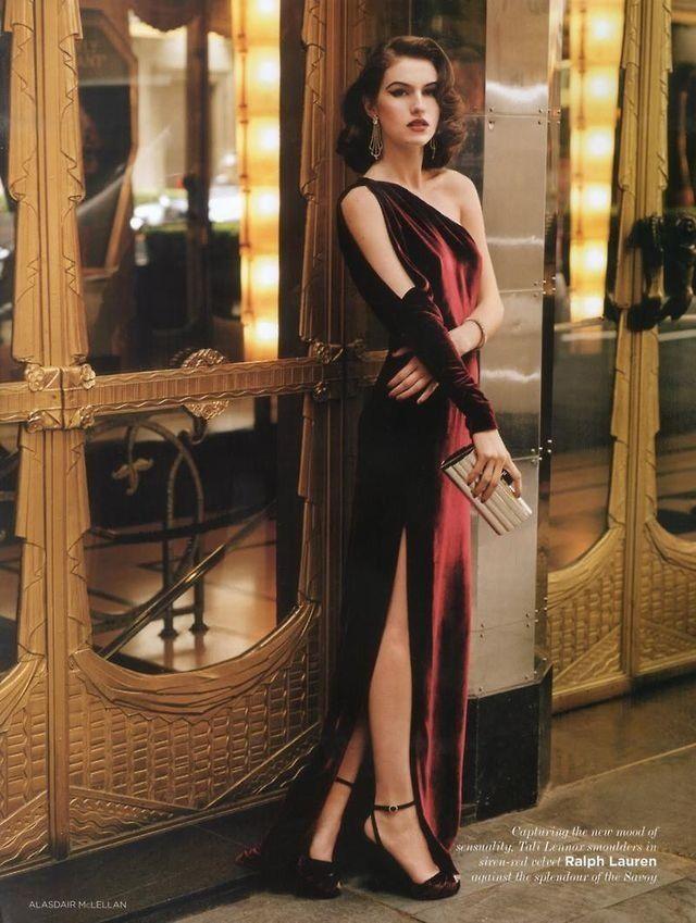 deep red velvet dress (New Years 2013 dress Inspiration)