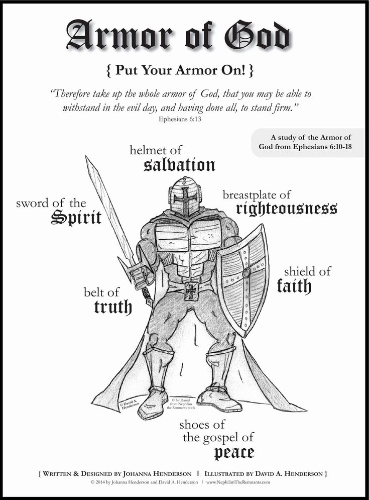 Armor Of God Coloring Page Inspirational Free Coloring ...