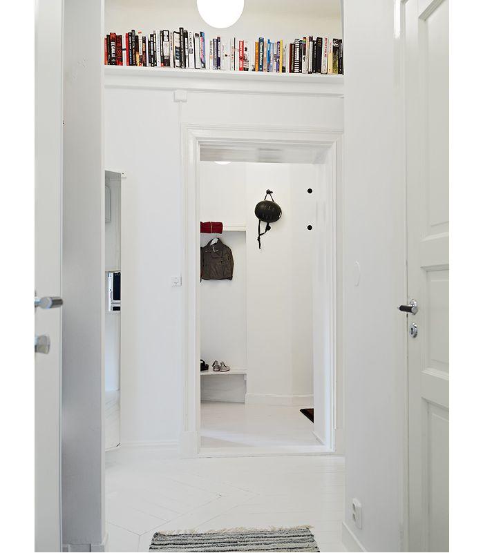 Snyggt att ha ovanför dörrkarmen till vardagsrum