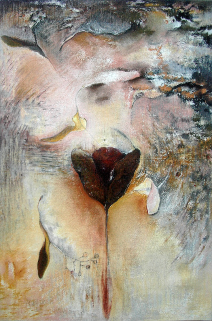 This uterus is entitled 'Exquisite,' and it truly is.  This delicate mixed media beauty was created by artist Susan Messer of Whitewater, WI.