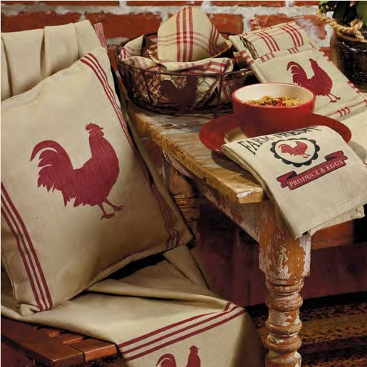 615 best images about my country rooster decor on pinterest - Kitchen rooster decor ...