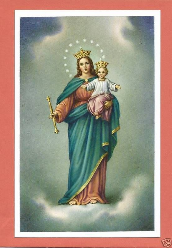 Catholic Large HOLY CARD picture MARY Our Lady of Victory Postcard size paper FOR SALE • $9.99 • See Photos! Money Back Guarantee. Catholic Large Holy Card Picture of Our Lady of Victory A lovely picture of Mary under her special title of Our Lady of Victory. She is holding the Child Jesus 391873525413