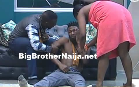 Day 70: Bisola Makes Fun Of Efe's Behaviour After He Got Drunk Last Night -  Click link to view & comment:  http://www.naijavideonet.com/day-70-bisola-makes-fun-of-efes-behaviour-after-he-got-drunk-last-night/