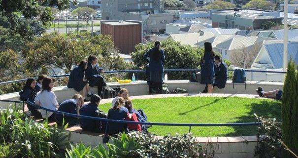 Wellington East Girls' College Circle Garden