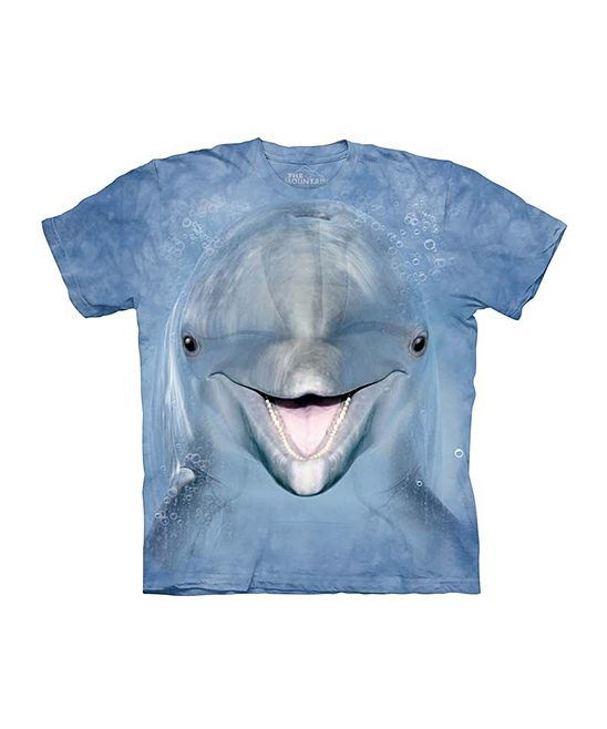 Blue Dolphin Tee - Toddler & Kids