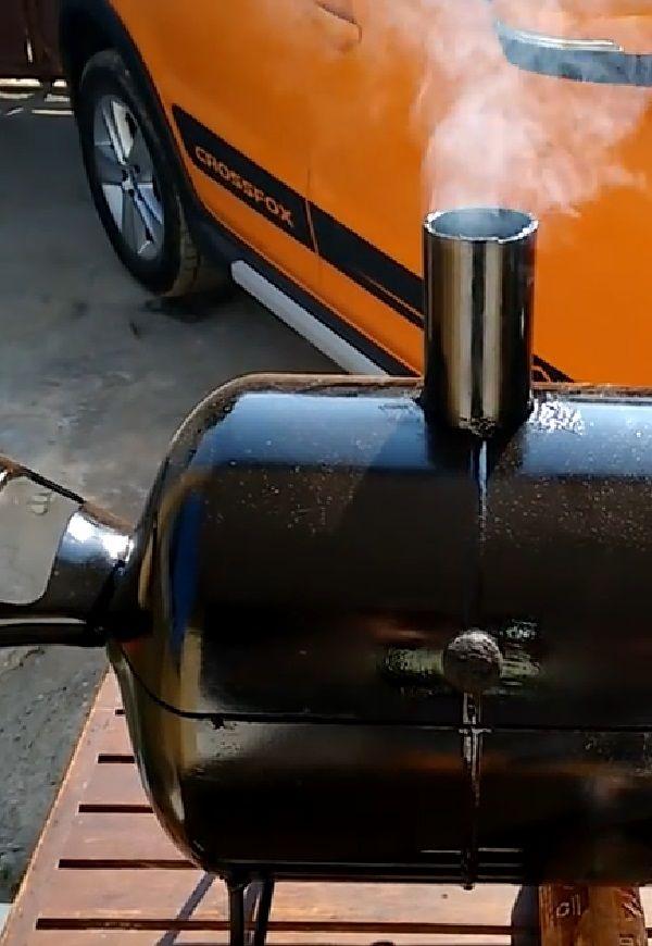 Mini Churrasqueira A Bafo Carvão Grill Para Mesa Churrasqueira Churrasqueira De Tambor Como Fazer Churrasqueira