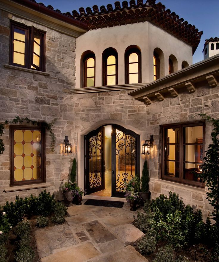 Exterior Pictures Of Mediterranean Style Homes Cities: 66 Best Tuscan Exterior Images On Pinterest