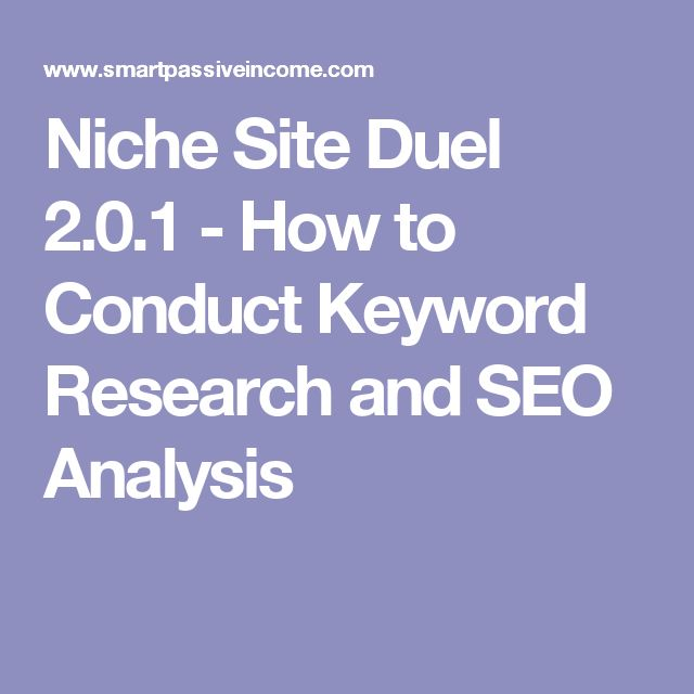 Niche Site Duel 2.0.1 - How to Conduct Keyword Research and SEO Analysis