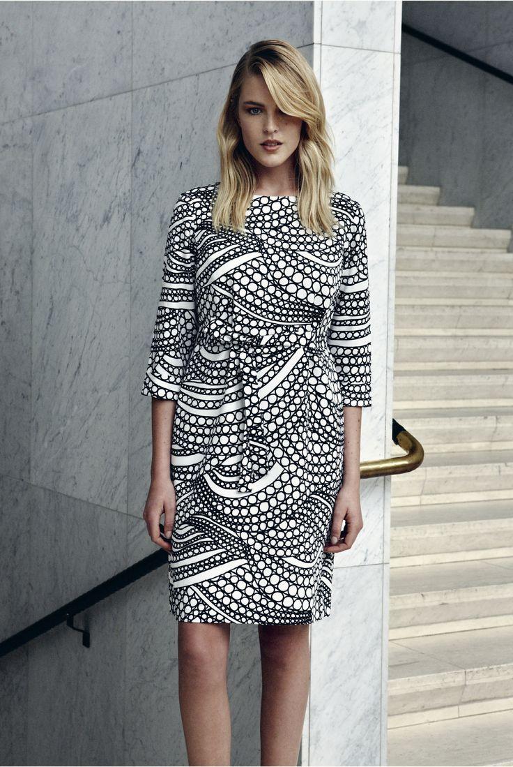 Kuplahdus and Tirsk dresses - Marimekko Fashion - Spring 2015