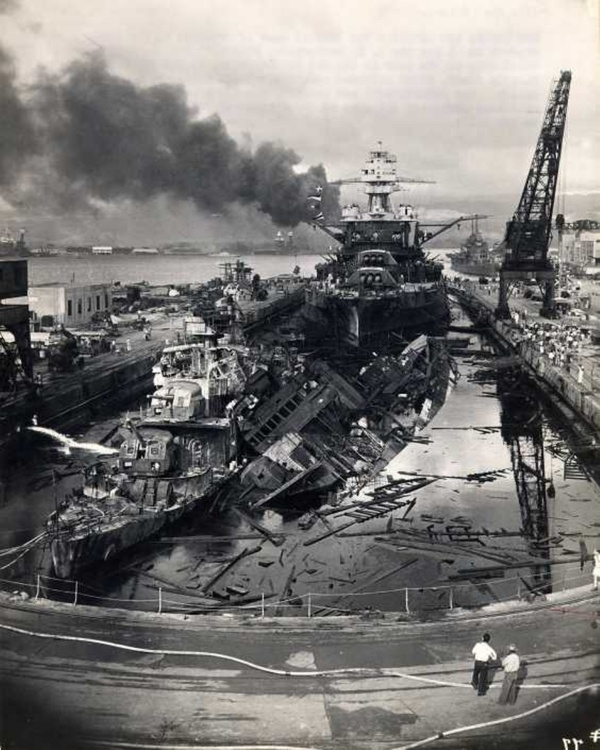 A day of infamy. December 7, 1941.  bN