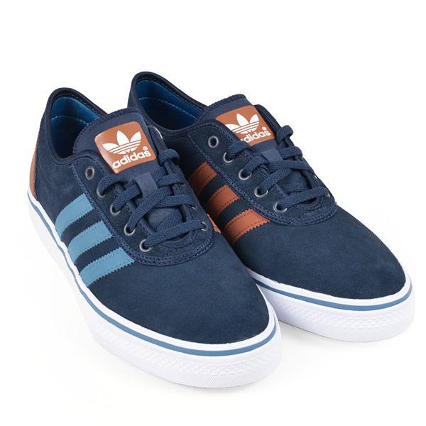 Adidas - Adi Ease 2, Navy/Brown