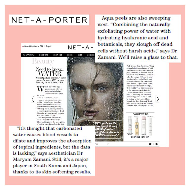 So happy to see my thoughts in @netaporter's The EDIT magazine on using skincare products with added H2O. Follow link to read more: https://www.net-a-porter.com/magazine/404/22 #H2O #hyaluronicacid #hydration #mzskin #drmaryamzamani #skin #skintips #skinhealth #skincare #beauty #beautyguru #beautyblogger #beautycare #netaporter #nap