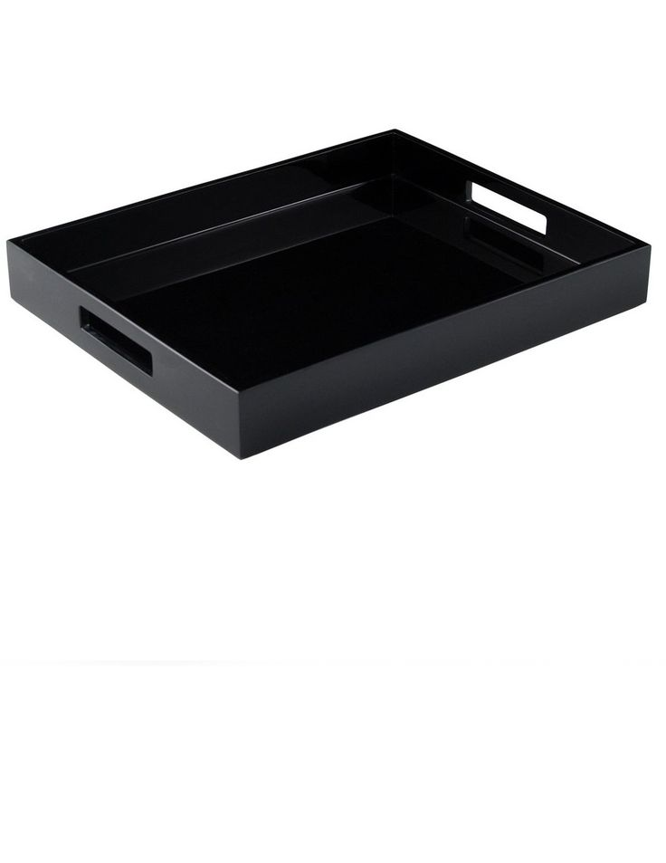32 best black trays images on pinterest black ottoman black tray and breakfast tray Decorative trays for coffee tables