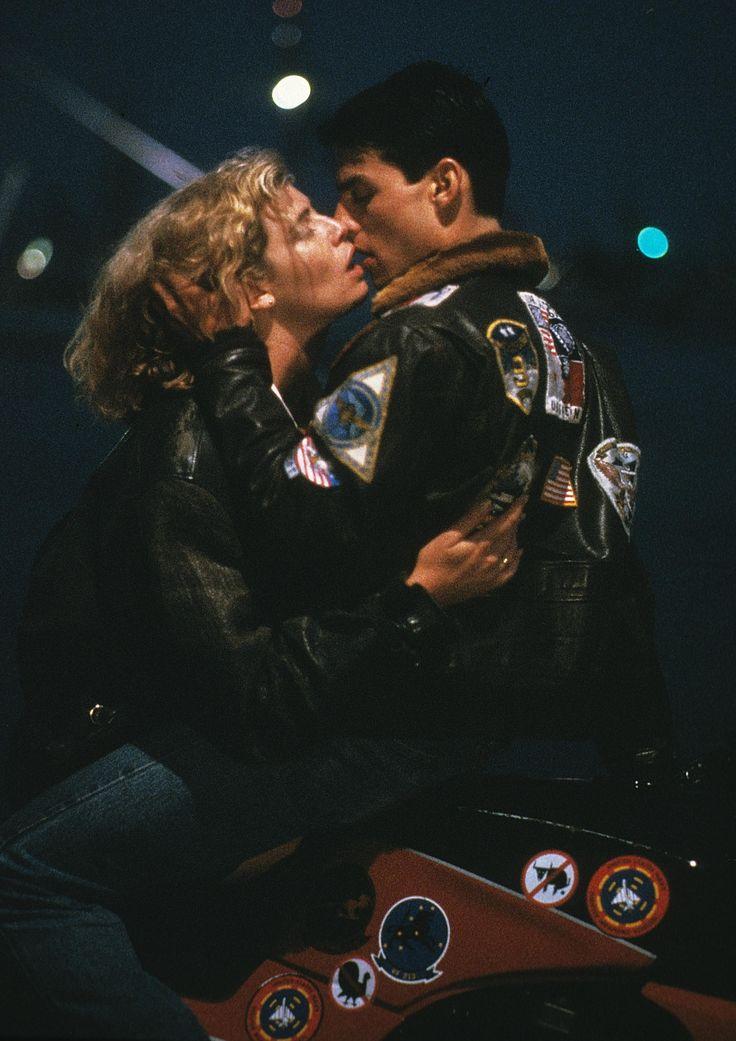 Charlie & Maverick - Kelly McGillis & Tom Cruise - Top Gun, 1986