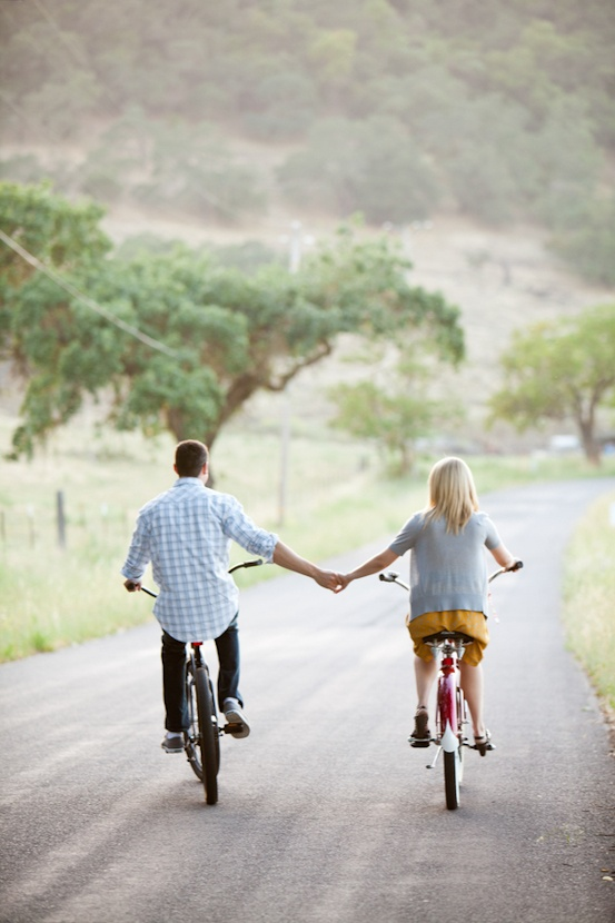 #bikes #engagement session #southern california
