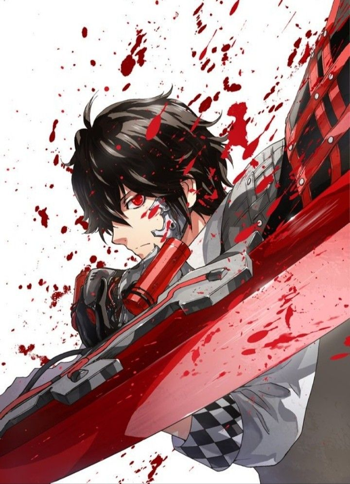 Louis Code Vein From The Cover Of The Manga Coding Veins Anime