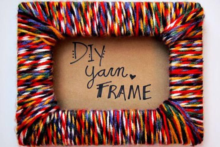 DIY Craft: 10 Easy And Simple Yarn & Wool Crafts For Kids                                                                                                                                                                                 More