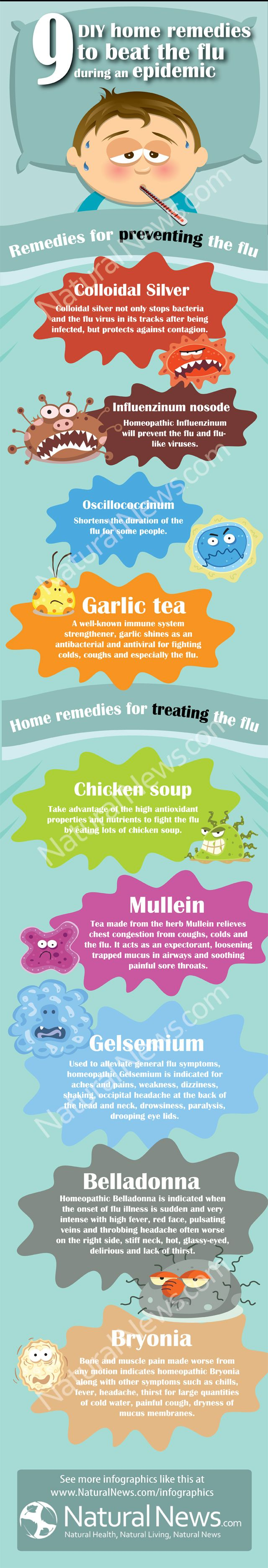 9 Do-it-Yourself Home Remedies to Beat the Flu During an Epidemic by The Health Ranger