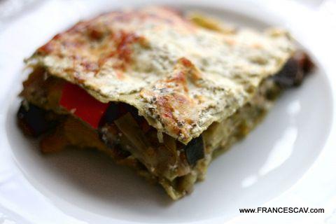 Lasagna vegetariana (con salsa allo yogurt) | FrancescaV